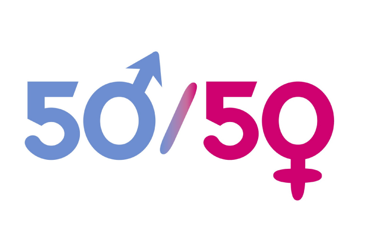 fifty-fifty